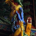 Sculpture in Confucius temple (detail)