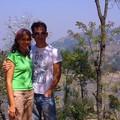 Lovers in terraces