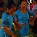 Dai women at a market