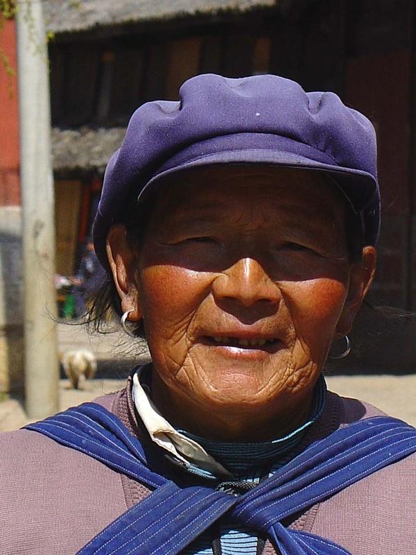 Naxi woman in Baisha