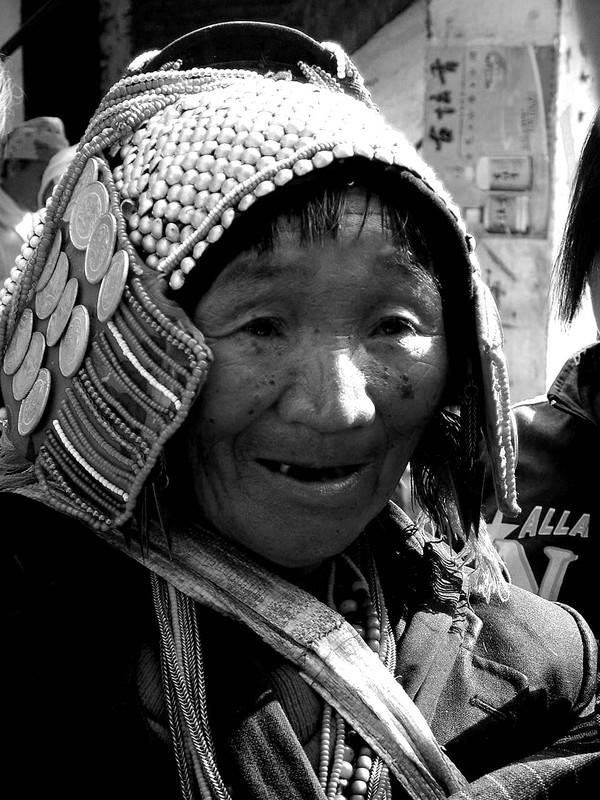 Dai woman in Menghun