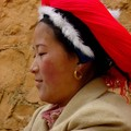 A tibetan woman in Shangri La