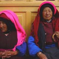 Tibetan women in Shangri La