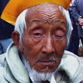 An old man in Jianshui