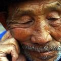 An old man in Jianshui