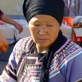 A Hani woman in a market