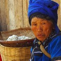 An old woman near Yuanyang