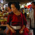 A Dai woman in Menghan market