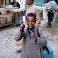 Little boy in a souq