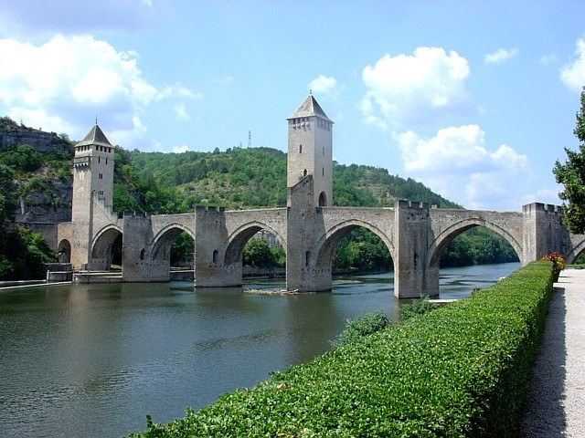 Valentré Bridge in Cahors