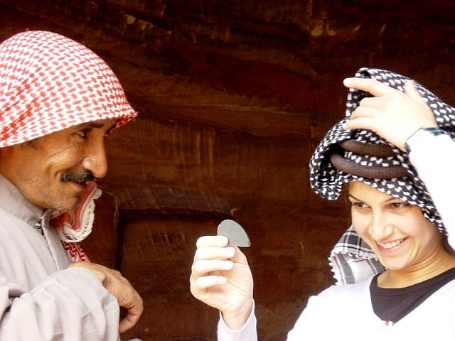 Bedouin style aircut