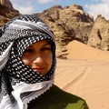A cute bedouin girl