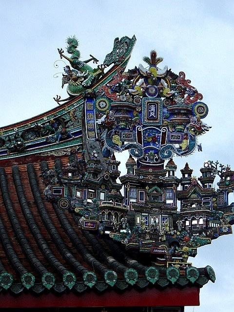 Roof of a Hindu temple