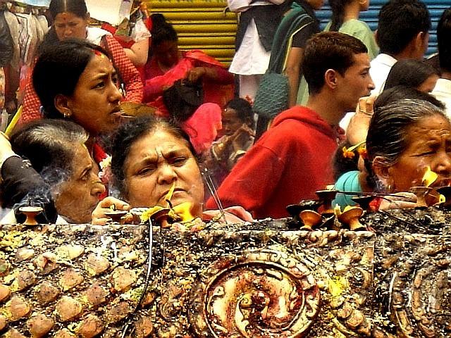 Cérémonie religieuse, Patan