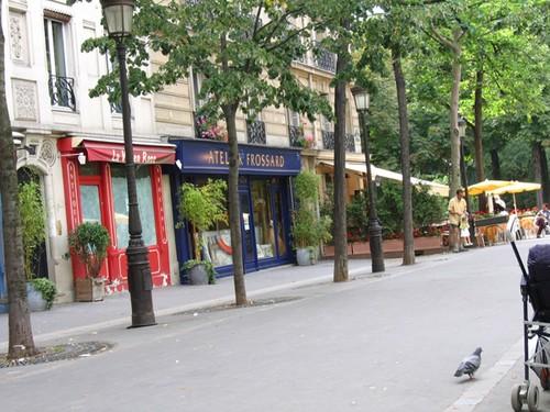 Place commercante - Batignolles