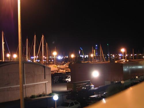Agde la nuit... Port Technique 1
