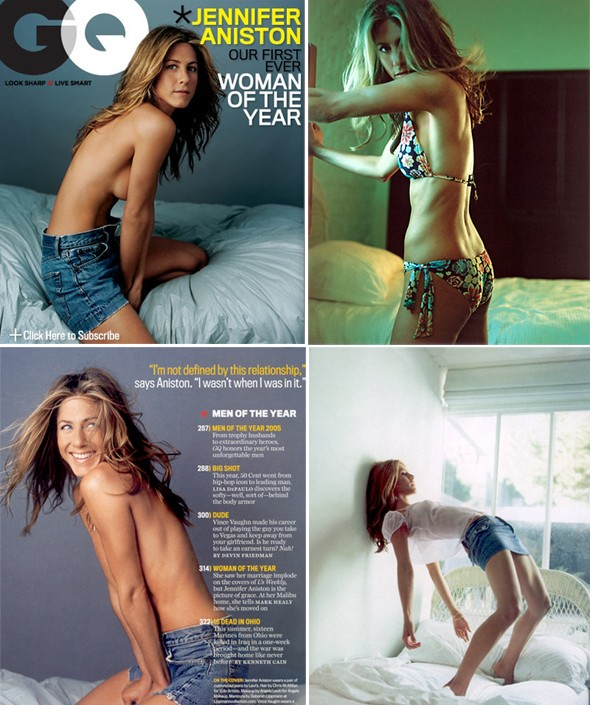 Jennifer Aniston Gq: JenniferAniston