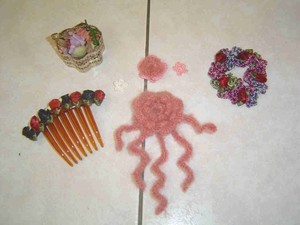 Tricot fleur