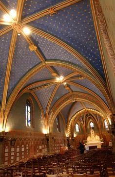 Intérieur de l'Église - Voutes