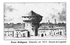 LiBoUrNe - Dessin de la Porte Bédignon