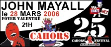 cahorsmayall2006