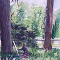 Peinture au parc de Sceaux - 2006