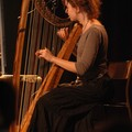 Eva, la fée de la harpe ( photo J Bosquet)
