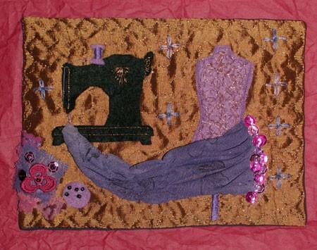 carte textile - couture 2