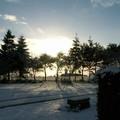 Coucher de soleil à Grace