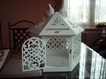 cage oiseau urne pour mariage - Urne Mariage Cage