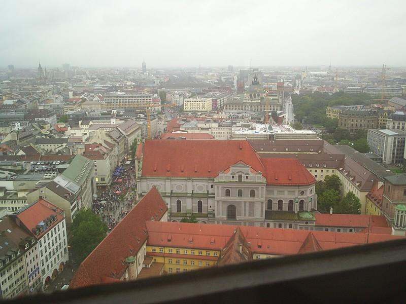 München Richtung Süd-Ost