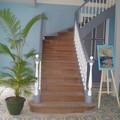 Escalier principal de l'ancien presbytère