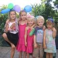 Anniversaire 4 ans Selma avec ses cousins cousines