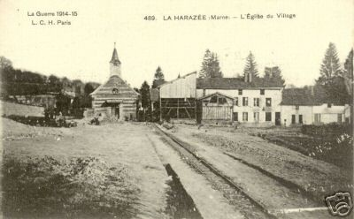 La Harazée village