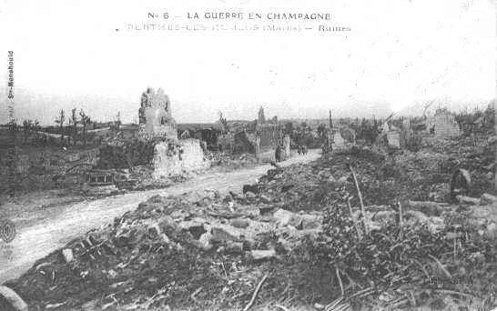 Ruines de Perthes les Hurlus
