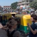 alexis et fanny sur rickshaws
