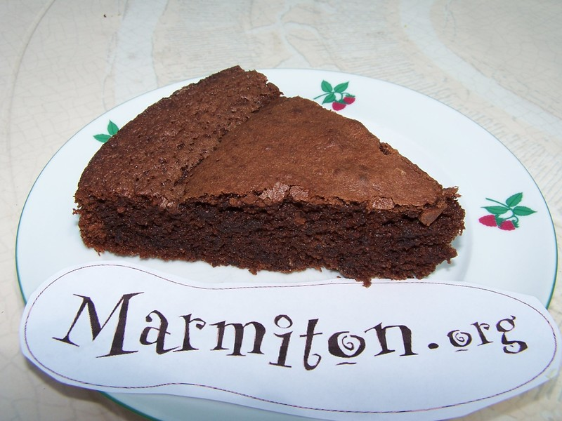 Recette gateau au chocolat le marmiton
