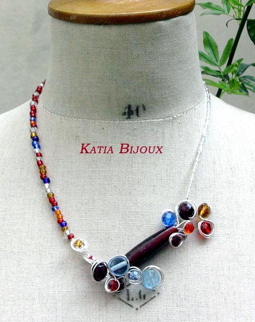 Collier Lio (longue perle indienne)
