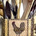 Range couverts pour ma cuisine... j'adore ce motif !