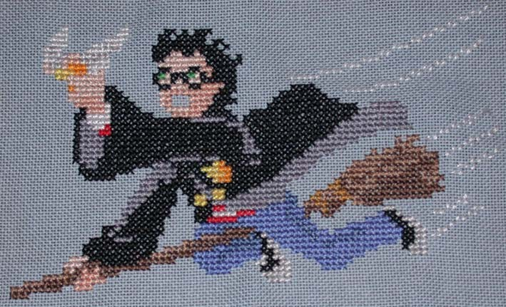 Harry Potter pour la trousse d'Alexis