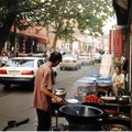 Cuisine dans la rue à Ji'nan