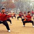 L'entrainement dans le monastere de Shaolin