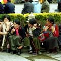 Tibetaines à Lhassa