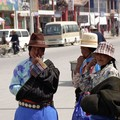 Femmes tibetaines à Xiahe