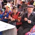 Pause glace au marché de Kuche