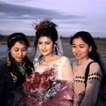 La mariée et ses amies