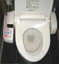 Japanese toilet made in japan for Commode japonaise