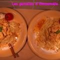 Poulet curry cajou