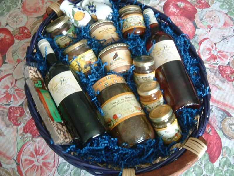 Panier Cadeau Provence : Marcade