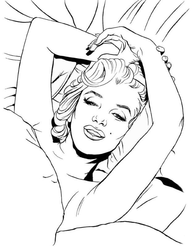 Sexy Pin Up Coloring Pages Printable Coloring Pages Pin Up Coloring Pages
